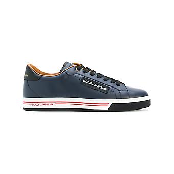 Dolce E Gabbana men CS1572AN1758E670 Blau leather of sneakers