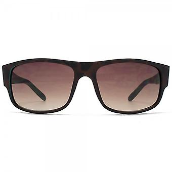 Fenchurch Plastic Wrap Sunglasses In Matte Tortoiseshell Rubber