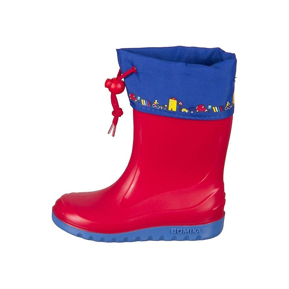 Romika Jerry Rotblau 01002413 universal Kleinkinder Schuhe