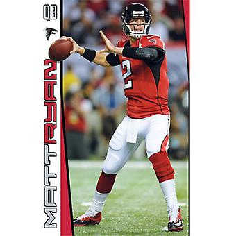 Atlanta Falcons Matt Ryan 2014 Poster Print