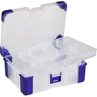 Assortment box (L x W x H) 160 x 120 x 60 mm VISO No. of compartments: 11 variable compartments