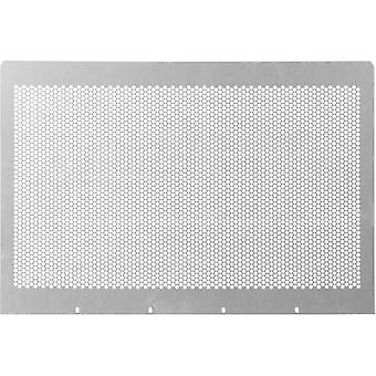 Schroff 30860-511 48.26 Cm (19)-plug-in MultipacPRO Perforated Cover Plate (W x H x D) 412 x 1 x 280 mm