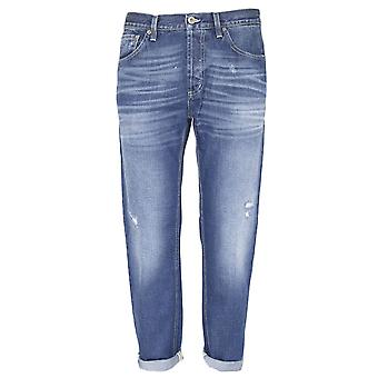 Dondup mens UP434DF164UP10G Blau bomull jeans