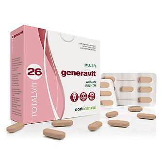Soria Natural Totalvit 26 Generavit (Diet)