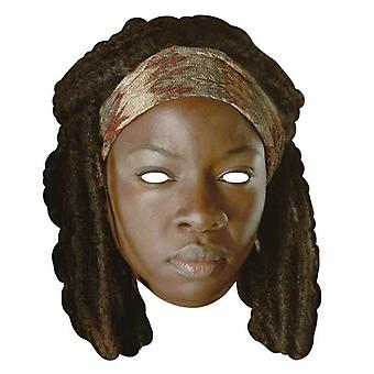 Michonne The Walking Dead Single Card Party Face Mask