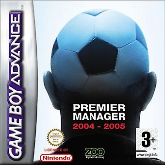 Premier Manager 2004-2005 (GBA)