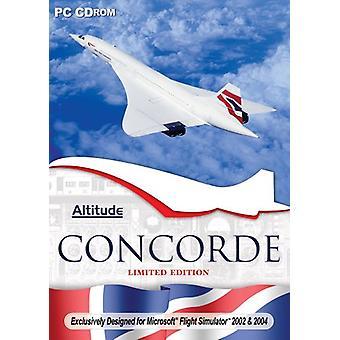 Concorde Microsoft Flight Sim 2004 Expansion Pack (PC CD)