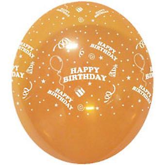 Balloner FØDSELSDAGEN med præsenterer røv krystal Cols 12