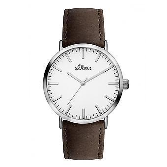 s.Oliver Herren Unisex Uhr Armbanduhr SO-3102-LQ
