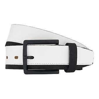 LLOYD Men's belt belts men's belts leather belt sneaker white 6891