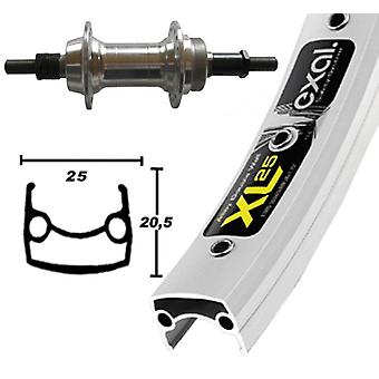 Bike parts 26″ wheel Exal XL 25 + screw circle around 6/7-speed hub