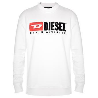 Дизель Дизель белый логотип Толстовки