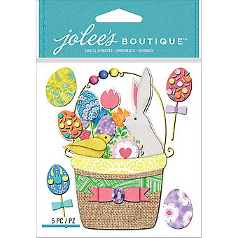 Jolee's Boutique Dimensional Stickers-Easter Basket