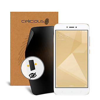 Celicious Privacy 2-Way Visual Black Out Screen Protector for Xiaomi Redmi 4X
