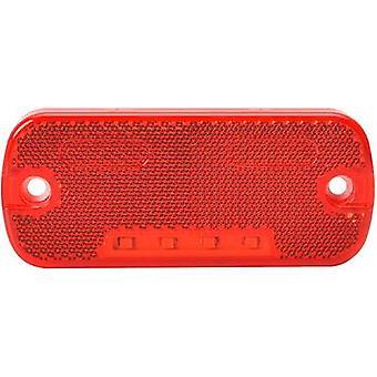 LEDs End outline marker Marker rear 12 V, 24 V Red