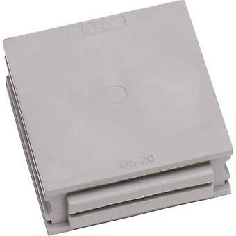 Icotek BTG Cable grommet Filler Elastomer Grey 1 pc(s)