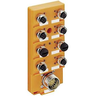 Sensor & actuator box (passive) M12 splitter + steel thread ASBSV 8/LED 5 11138 Lumberg Automation 1 pc(s)