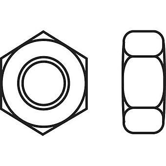 Hexagonal nuts M6