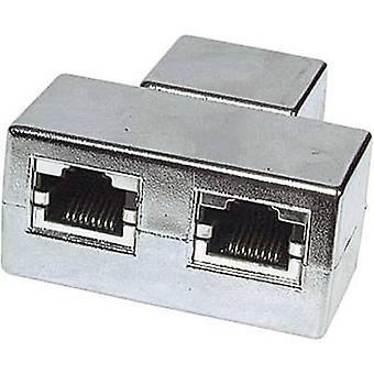 RJ45 Networks Y adapter CAT 5e [2x RJ45 socket - 1x RJ45 socket]