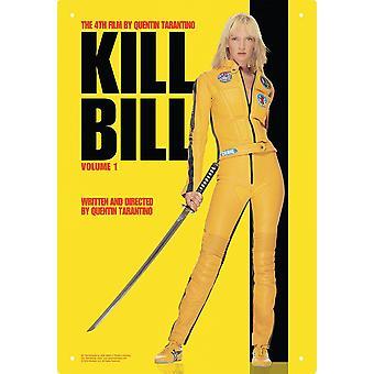 Kill Bill Film Metal Sign 290Mm X 200Mm