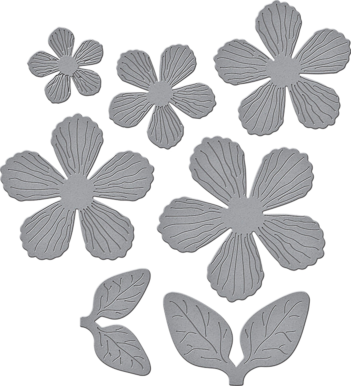 Spellbinder Timeless Heart Designer Series By Marisa Job-Texturouge FFaibleers