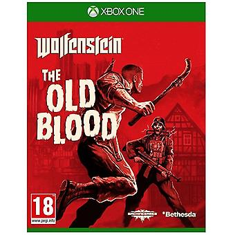Wolfenstein het oude bloed Xbox One spel