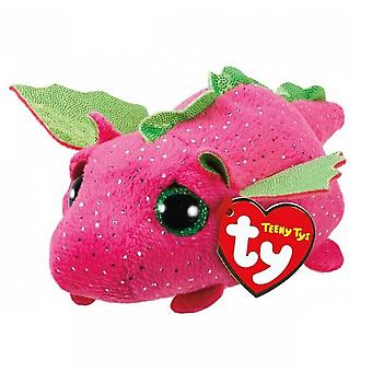 TY Teeny Darby the Pink Dragon