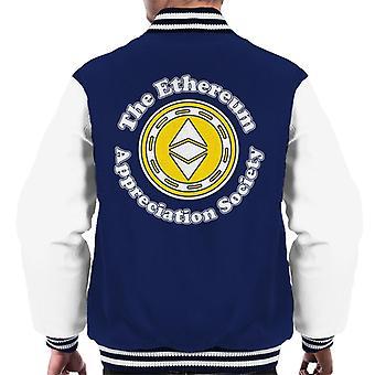 The Ethereum Appreciation Society Men's Varsity Jacket