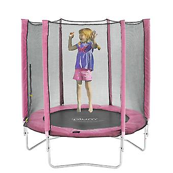 Plum 6ft Trampoline and Enclosure Pink