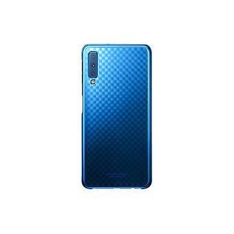 Samsung cover di gradazione Blau EF AA750CLEGWW per Custodia Galaxy A7 A750F 2018 borsa