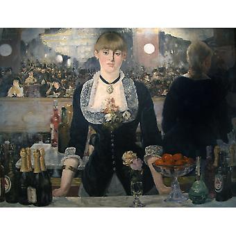 شريط في Folies-بيرجير، إدوارد مانيه، 50x40cm
