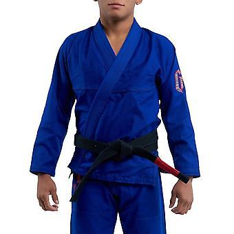 Gameness ar Pro Jiu-Jitsu Gi azul
