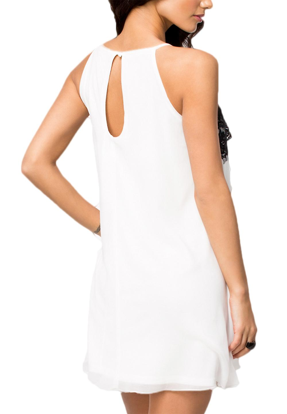 Waooh - Neckline Dress With Lace Inpoth