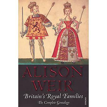 الأسر المالكة في بريطانيا-علم الأنساب من أليسون وير-978
