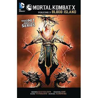 Mortal Kombat X - Vol 3 by Shawn Kittelsen - 9781401260842 Book