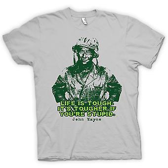 Koszulka męska - John Wayne - Green Beret - WW2