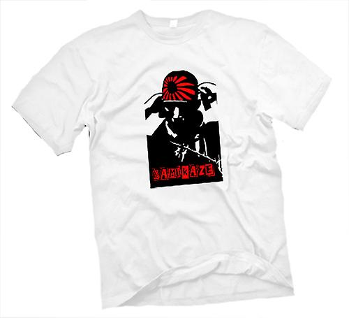 Mens t-shirt-pilota Kamikaze giapponese