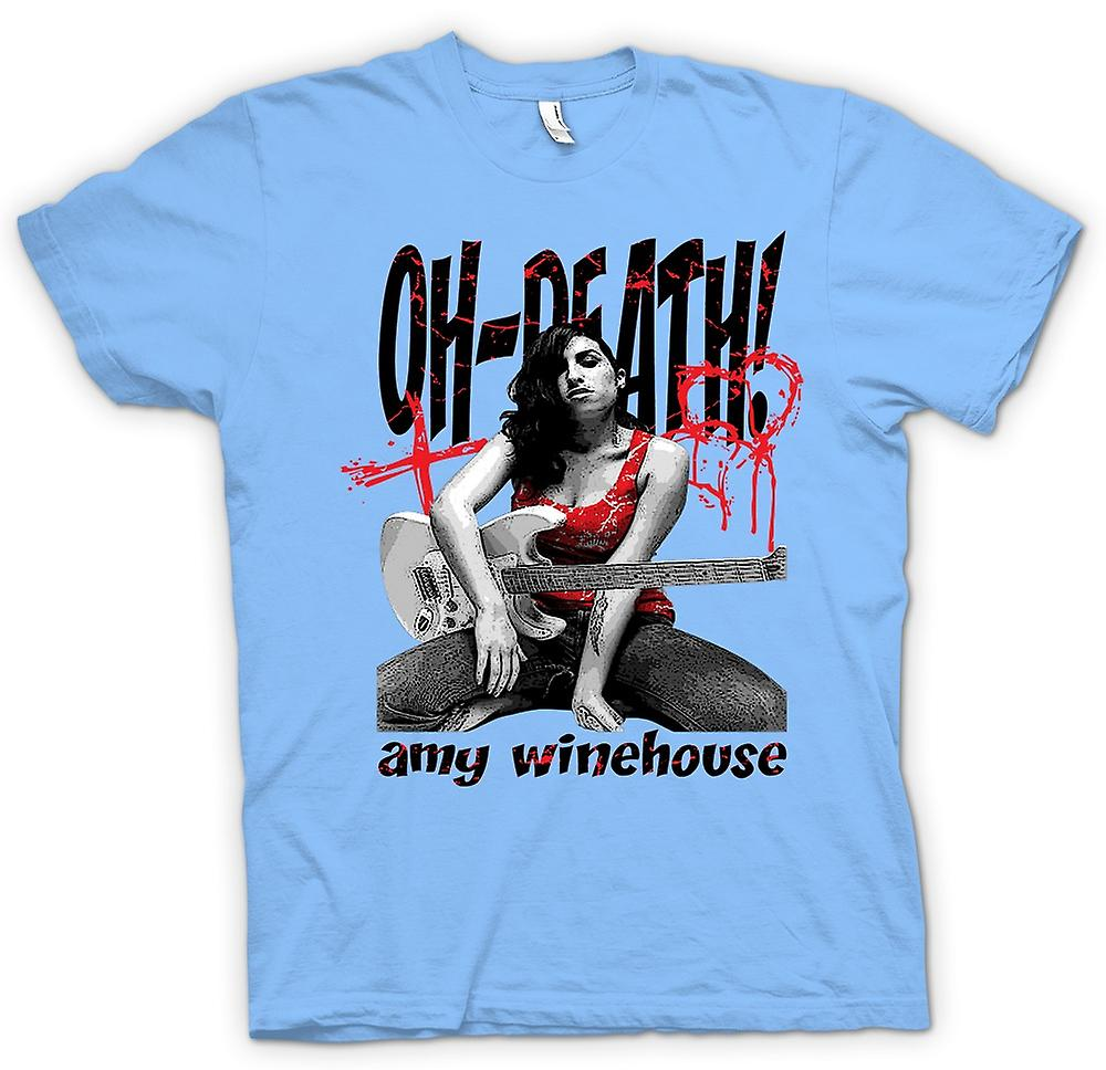 Mens T-shirt - Amy Winehouse - Oh Death
