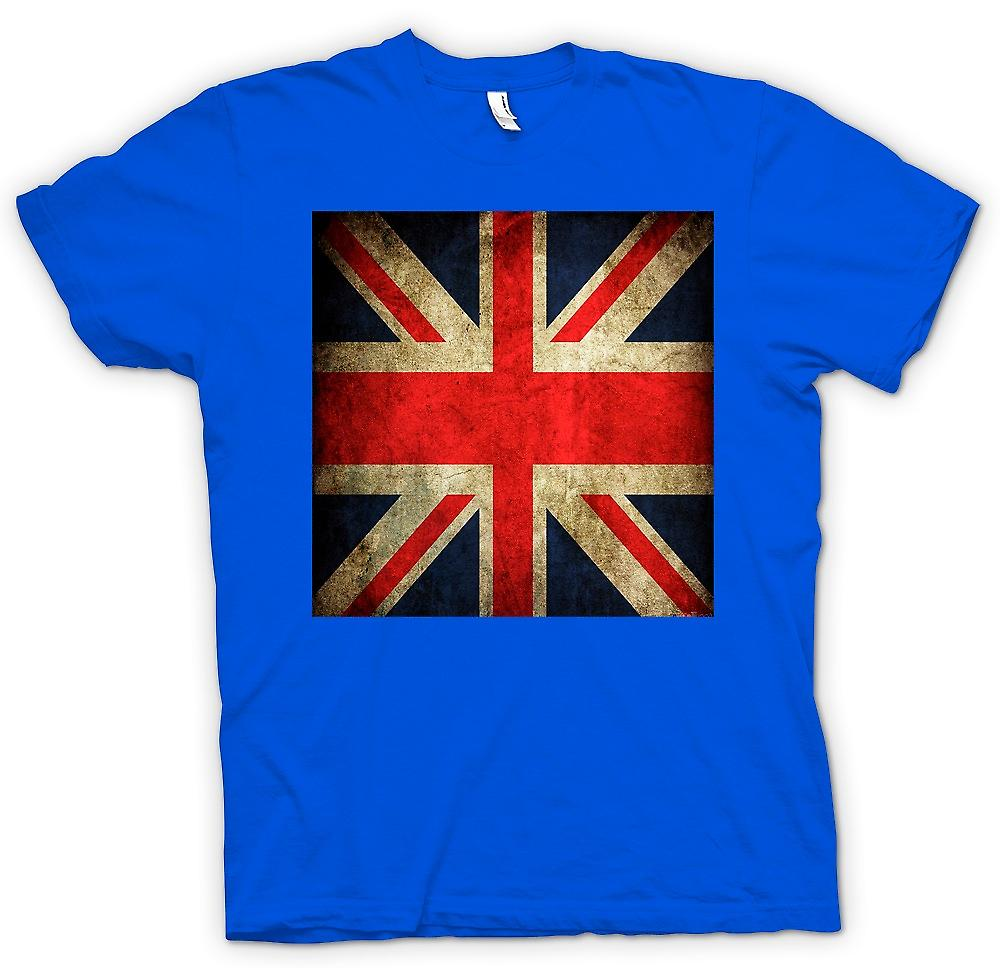 Mens T-shirt - Great Britiain Grunge Flag