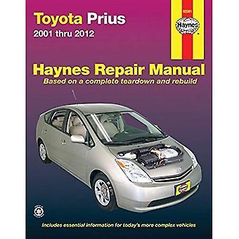 Toyota Prius Automotive Repair Manual: 2001-12 (Haynes Automotive Repair Manuals)