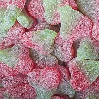 2 Pack of 180g Bags of Fizzy Twin Cherries