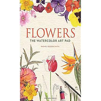 Blumen: Das Aquarell Kunst-Pad