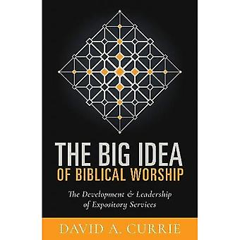 The Big Idea of Biblical Worship: The Development and Leadership of Expository Services