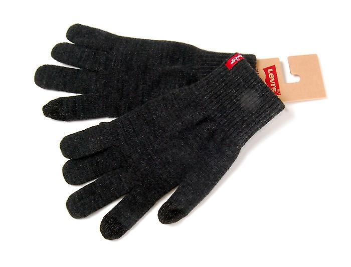 Levi's 222283 Ben Touch Screen Gloves - Dark Grey