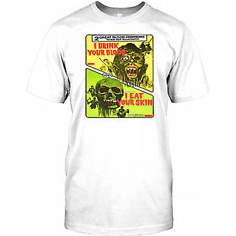 I Drink Your Blood / I Eat Your Skin - Zombie Horror Kids T Shirt
