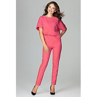 Lenitif women's jumpsuits overall coral