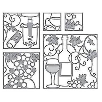 Spellbinders Wine Snippets Dies (S5-348)