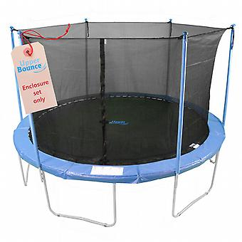15'  Trampoline Enclosure Safety Net Fits For 15 FT. Round Frames Using 6 Poles or 3 Arches (poles not included)