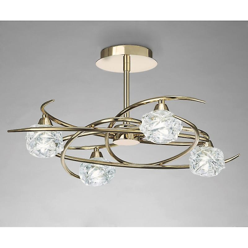 Maremagnum Ceiling 4 Light G9, French or