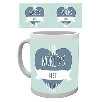 Mothers Day Worlds best Mum Boxed Drinking Mug
